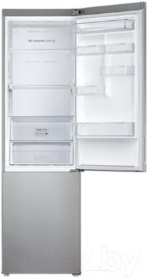 Холодильник с морозильником Samsung RB37A5470SA/WT