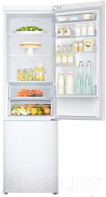 Холодильник с морозильником Samsung RB37A5200WW/WT
