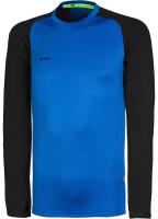 Лонгслив спортивный детский 2K Sport Performance / 121131J (YXS, синий/черный) -