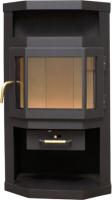 Печь-камин Мета-бел Ока АОТ 6.0 (с плитой) -