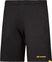 Шорты спортивные 2K Sport Performance / 121714 (M, черный/желтый) -