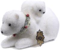 Световая фигурка Белбогемия Медведь и медвежонок 25598784 / 96463 -