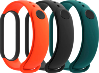 Комплект ремешков для фитнес-трекера Xiaomi Mi Smart Band 5 Strap / BHR4639GL  (3шт) -