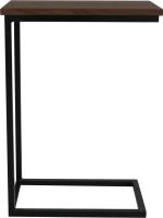 Приставной столик BestLoft 1642-46/DD (черный/дуб темный) -