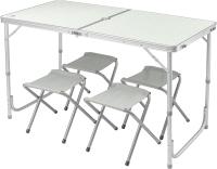 Комплект складной мебели Coyote HKTB-1002 (светло-серый) -