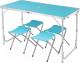 Комплект складной мебели Coyote HKTB-1002 (голубой) -