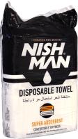 Полотенца одноразовые для парикмахерской NishMan Disposable Towel (100шт) -