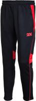 Брюки спортивные 2K Sport Vettore / 121325 (XXXL, черный/красный) -