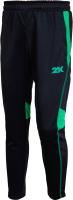 Брюки спортивные детские 2K Sport Vettore / 121325 (YS, черный/зеленый) -