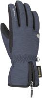 Перчатки лыжные Reusch Selina GTX Dress / 6031331-4509 (р-р 7.5, Blue Melange) -