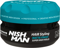 Воск для укладки волос NishMan M4 матовая сильной фиксации (100мл) -