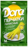 Перчатки хозяйственные Dora Универсальные / 2004-001-M-240 (M) -