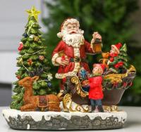 Световая фигурка Luazon Новогодние сани с подарками 5133418 -