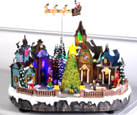 Световая фигурка Luazon Новогодняя площадь 5135399 -