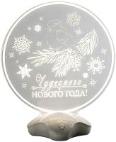 Световая фигурка Luazon Снегирь 2446533 -