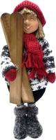 Фигурка для сада Подари Кукла с лыжами / 4754451 -