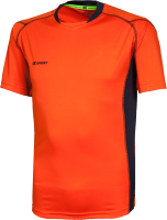 Футболка волейбольная 2K Sport Energy / 140040 (M, оранжевый/темно-синий) -