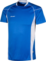 Футболка волейбольная 2K Sport Energy / 140040 (S, синий/белый) -