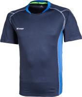 Футболка волейбольная 2K Sport Energy / 140040 (XXL, темно-синий/синий) -
