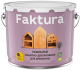 Защитно-декоративный состав Ярославские краски Faktura (9л, махагон) -