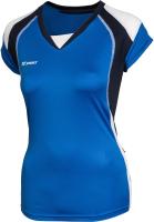 Майка волейбольная 2K Sport Energy / 140042 (M, синий/темно-синий/белый) -
