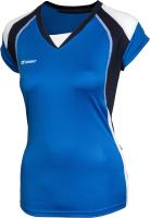 Майка волейбольная 2K Sport Energy / 140042 (XS, синий/темно-синий/белый) -