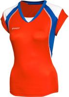 Майка волейбольная 2K Sport Energy / 140042 (L, красный/синий/белый) -