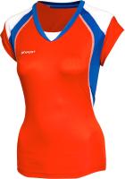 Майка волейбольная 2K Sport Energy / 140042 (XXS, красный/синий/белый) -