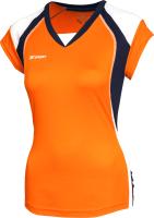 Майка волейбольная 2K Sport Energy / 140042 (YL, оранжевый/темно-синий/белый) -