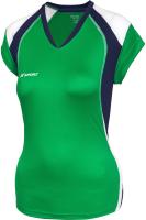 Майка волейбольная 2K Sport Energy / 140042 (XXS, зеленый/темно-синий/белый) -