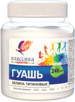 Гуашь ЛУЧ Классика / 30С 1815-08 (белила тииановые) -