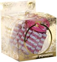 Шар новогодний Зимнее волшебство Самые теплые пожелания / 5005121 (30 свитков) -