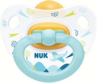 Пустышка NUK Happy Kids / 10726007 (р.1, голубой) -