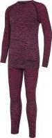 Комплект термобелья детский VikinG Fjon Bamboo / 500/22/6565-46 (р.128/140, розовый) -