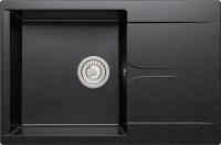 Мойка кухонная Polygran Gals-760 (черный) -