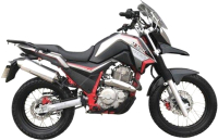 Мотоцикл M1NSK Goose 400 (серый) -