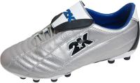 Бутсы футбольные 2K Sport Storm / 125110 (р-р 47, серебристый) -