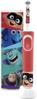 Электрическая зубная щетка Braun Oral-B Pixar D100.413.2KX (с чехлом) -