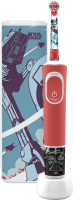 Электрическая зубная щетка Braun Oral-B StarWars D100.413.2KX (с чехлом) -