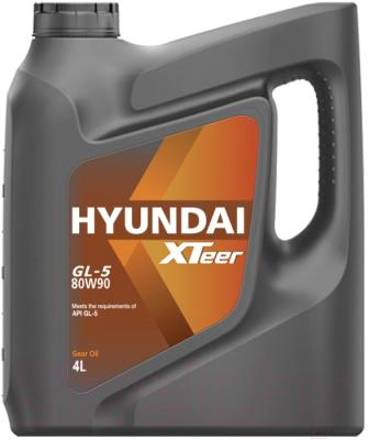 Трансмиссионное масло Hyundai XTeer Gear Oil-5 80W90 / 1041422 (4л)
