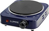 Электрическая настольная плита Lumme LU-3610 (синий сапфир) -