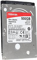 Жесткий диск Toshiba  L200 Slim 500GB (HDWK105UZSVA) -