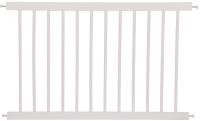 Ограждение для кроватки Polini Kids Simple 100 (белый) -