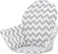 Чехол на стульчик для кормления Polini Kids Antilop зигзаг (серый) -