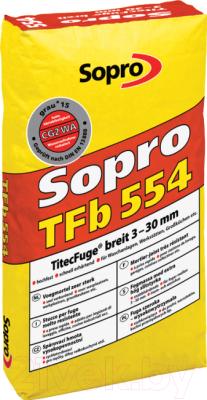 Фуга Sopro TFb 554 (25кг, серый)
