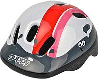 Защитный шлем Polisport Guppy 44/48 (XXS, розовый/белый) -