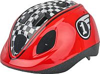 Защитный шлем Polisport Race 46/53 / 8740300008 (XS, красный/черный) -