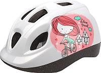 Защитный шлем Polisport Princess 46/53 / 8740300023 (белый/розовый) -