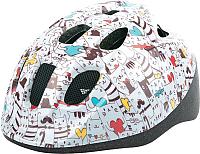 Защитный шлем Polisport Cats 52/56 / 8740400018 (S, разноцветный) -