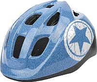 Защитный шлем Polisport Jeans 52/56 / 8740400019 (S, синий/белый) -